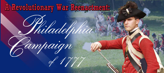 Battle of the Brandywine Revolutionary War Reenactment