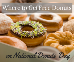 Where to Get Your Free Doughnuts on National Donut Day 2016