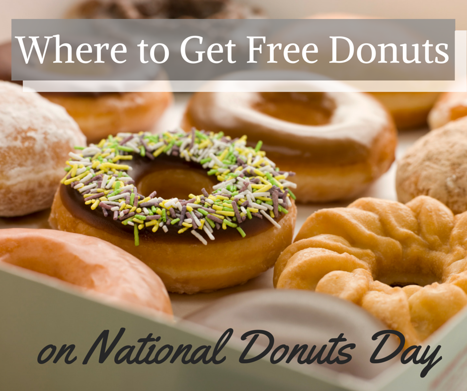 Where to Get Free Donuts for Donut Day