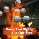 Buy Two, Get One Night of Camping Free