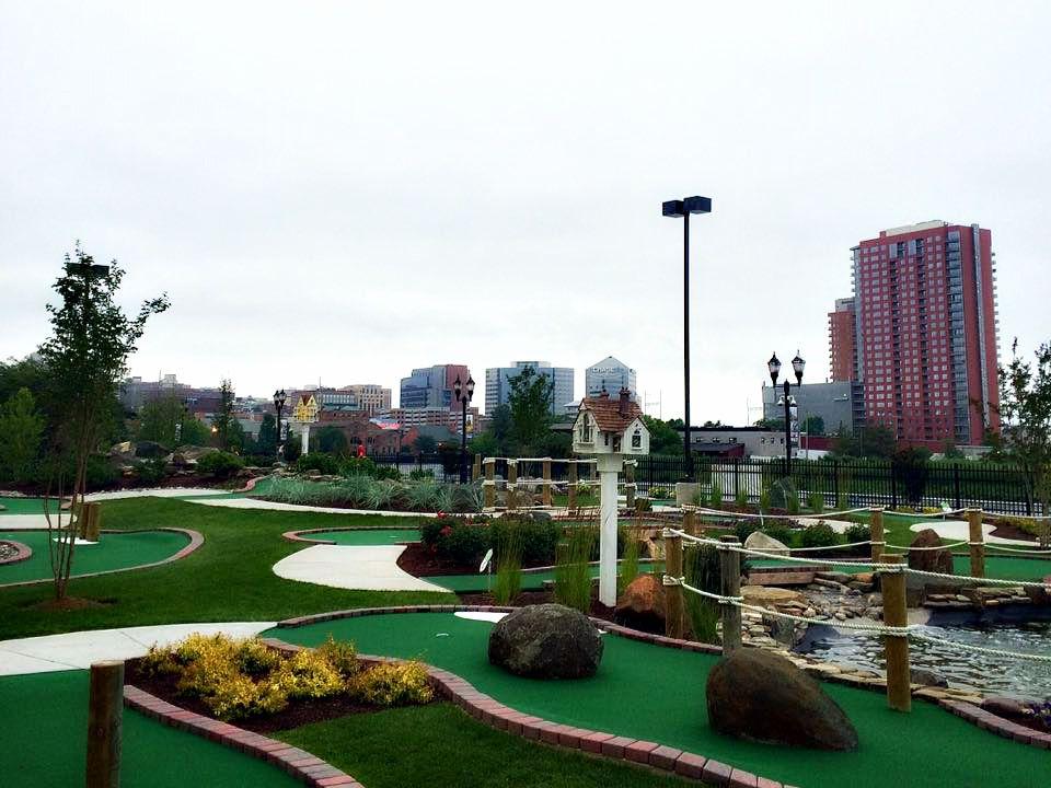 riverfront mini golf