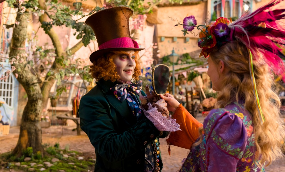 Alice Through the Looking Glass sneak preview