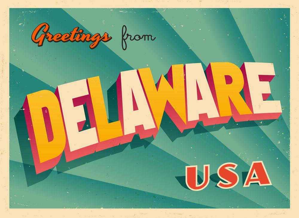 Delaware postcard