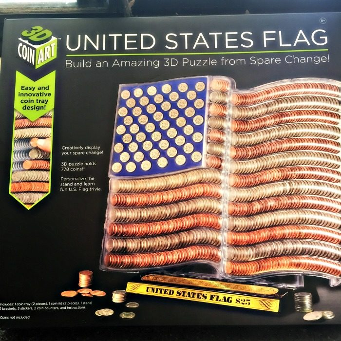 For The Kids 3d Coin Art American Flag Review Giveaway