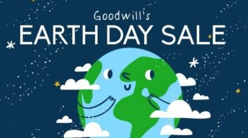 Earth Day Sale at Goodwill of Delaware and Delaware County