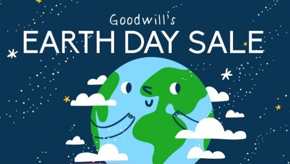 Delaware Goodwill earth day sale
