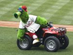 Phillie Phanatic in Newark