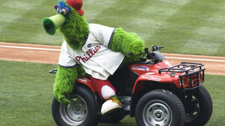 The Phillie Phanatic is Coming to Newark
