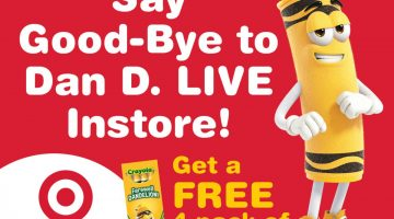 Crayola's Dandelion Farewell Tour Comes to DE and Philly